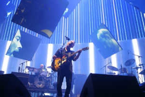 SYDNEY, AUSTRALIA - NOVEMBER 12:  Thom Yorke of Radiohead performs live on stage at Sydney Entertainment Centre on November 12, 2012 in Sydney, Australia.  (Photo by Mark Metcalfe/Getty Images)