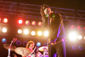 10/04/15 The Strokes perform on the Samsung Galaxy stage at ACL Music Festival on Sunday, October 4 2015. (Suzanne Cordeiro/American-Statesman)