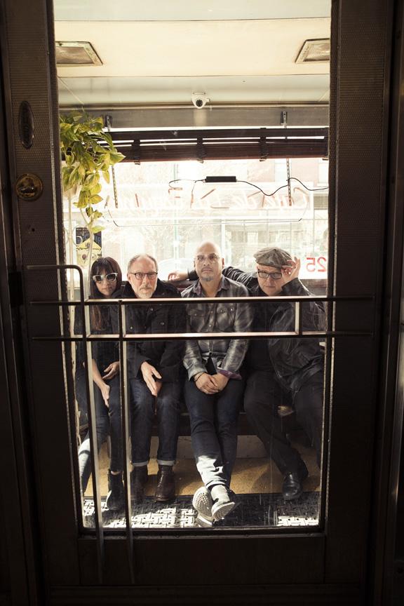 L-R:  Paz Lenchantin, David Lovering, Joey Santiago, Black Francis
